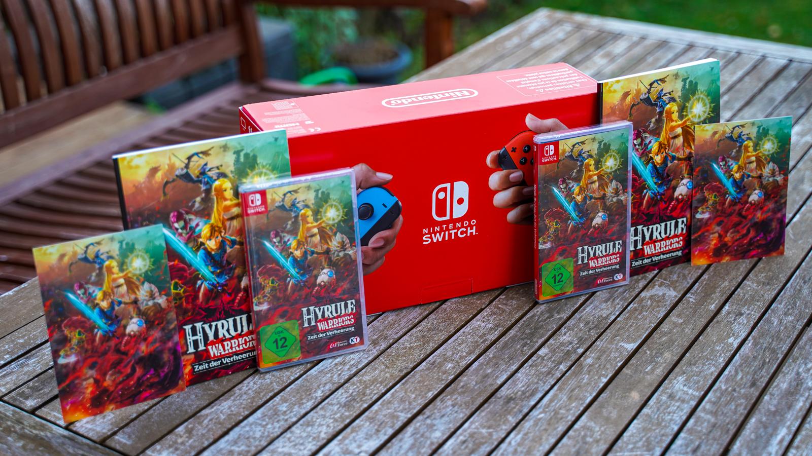 Gewinne Eine Nintendo Switch Mit Hyrule Warriors Zeit Der Verheerung