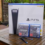 Sony Playstation 5 Assassins Creed Valhalla Watch Dogs Legion Gewinnspiel