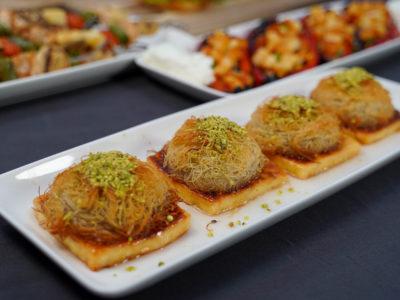 Helimli Kadayifli Ümit Tatlisi Tarifi- Halloumi Grillkäse Kadayif Engelshaar Dessert Rezept Umihito